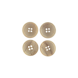 Button wood 20mm 4-holes 4 pcs