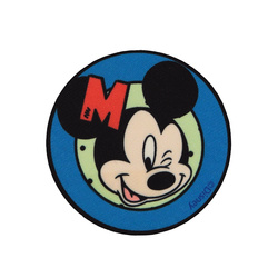 Patch MICKEY MOUSE 65mm blue 1 pc