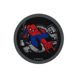 Symerke SPIDERMAN 65mm sort/hvit 1 stk