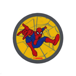 Patch SPIDERMAN 65mm yellow 1 pc