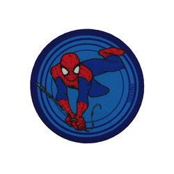Symærke SPIDERMAN 65mm blå 1 stk