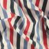 Dralon white/red/blue stripe Teflon coat