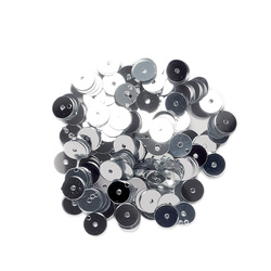 Sequins 6 mm silver 10g