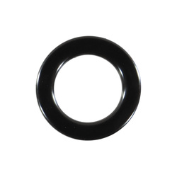 Eyelet 55/35mm black 10 pcs