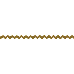 Zig-zag band 5mm curry 3m