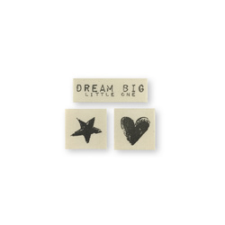 "Patch kit ""Dream big"" 3pcs"