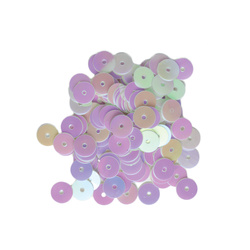 Sequins 6 mm mother of pearl 10g