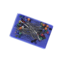 Head pins in box 38mm 75pcs