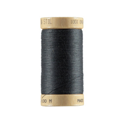 Sewing thread organic charcoal 100m