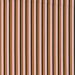 Woven satin dusty rose with stripes