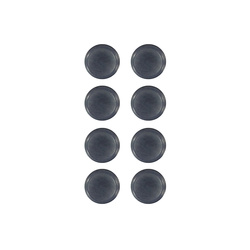 Shank button 12mm navy 8 pcs