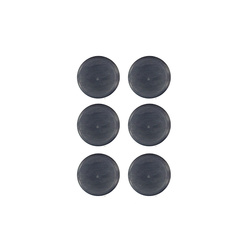 Shank button 15mm navy 6 pcs