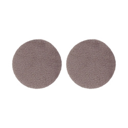 Shank button velour 30mm lt.lavender2pcs