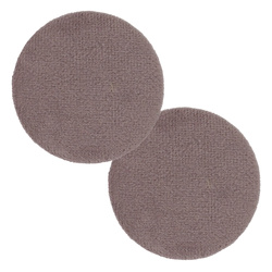 Shank button velour 45mm lt.lavender2pcs