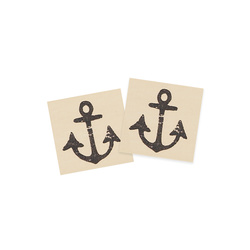 Patch anchor 25x25mm nature 2pcs