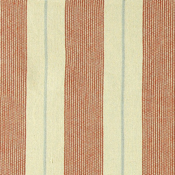 Yarn dyed cotton nature/rust stripes