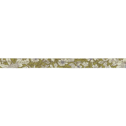 Piping ribbon cotton 4mm flowered 3m