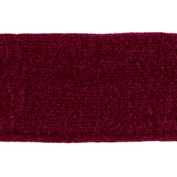 Tube knit 60mm dark red 1m