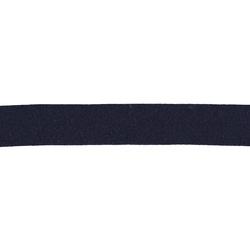 Straight cut tape stretch 20mm navy 3m