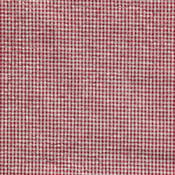 Seersucker red yarn dyed check