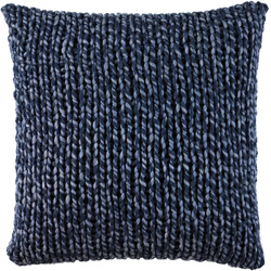 Pillow in stockinette stitch