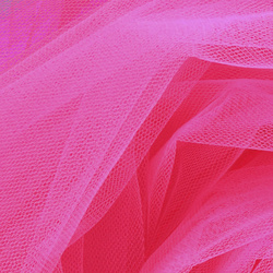 Tulle neon pink