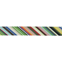Bias tape cotton 18mm striped 3m