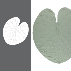 Waterlilly leaf