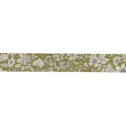 Bias tape cotton 18mm flowered 3m