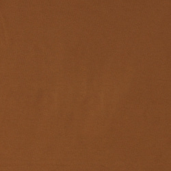 Stretch jersey dark caramel
