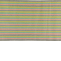 Woven rose/grey/green stripe