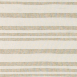 Linen/viscose white with YD stripe