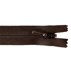 YKK zip 5mm invisible coil brown