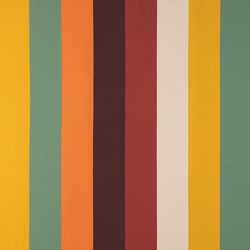 Stretch jersey multicolored block stripe