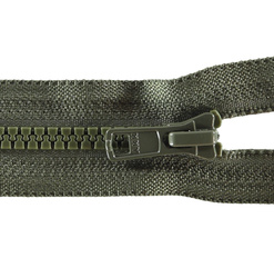 YKK zip 6mm open end army