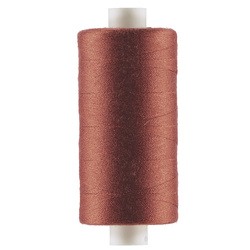 Sewing thread dusty red 1000m