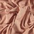 Woven cotton dusty rose stripe w lurex