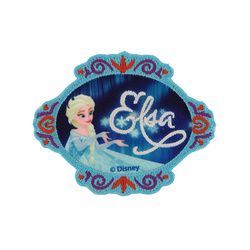 Patch FROZEN ELSA 80mm 1pc