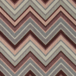 Gobelin multicoloured zig zag pattern