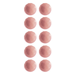Shank button 12mm rose 10 pcs
