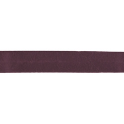 Bias tape cotton 18mm plum 5m