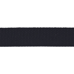 Webbing ribbon nylon 25mm navy 5m