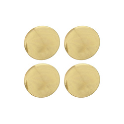 Shank button 29mm gold 4 pcs