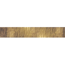 Band Lederlook, 20mm Gold, 2m