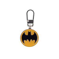 Zipper-pendant BATMAN 20x20mm 1pc