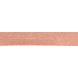 Bias tape cotton 18mm coral 25m
