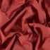 Luxury cotton rhubarb red