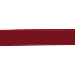 Gros grain ribbon 15mm red 5m