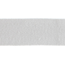 Webbing ribbon 30mm white 3m