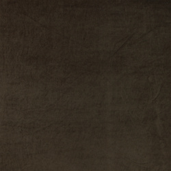 Stretch velvet dark brown